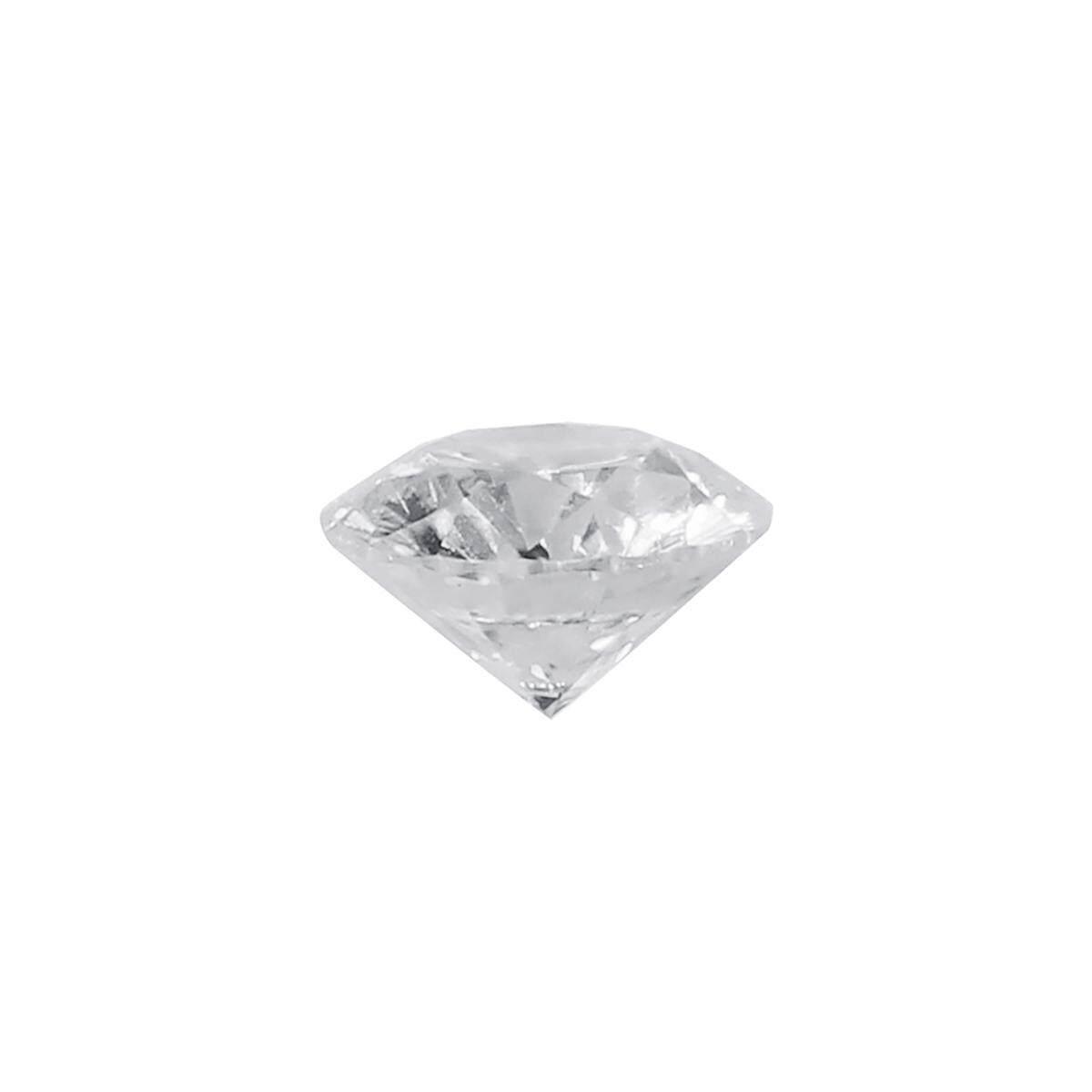 Berlian Putih Alami H Warna 1.0cts 6.5 Mm Bentuk Bulat Vvs2 Kejelasan 10 Kekerasan By Audew.