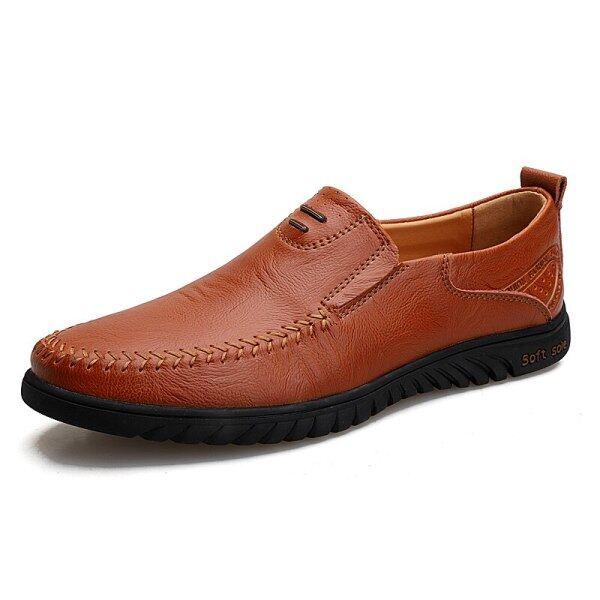 2021 Golf Giày, Người Đàn Ông Giày Giày Nam Thường Ngày Mềm Mại Ấm Cúng Chất Lượng Cao Bằng Da Thật, Moccasin Nam Giày Dép Nâu Đen Giày Đi Golf Căn Hộ