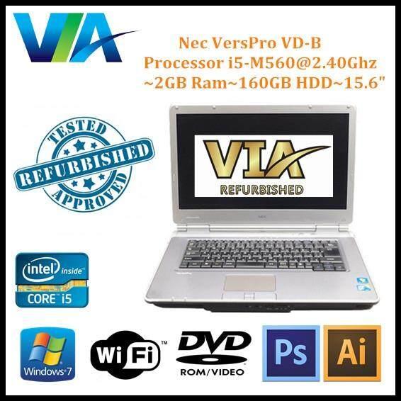 Refurb Nec VersaPro VD-B~CI5~2Gb Ram~160Gb HDD~15.6 Malaysia