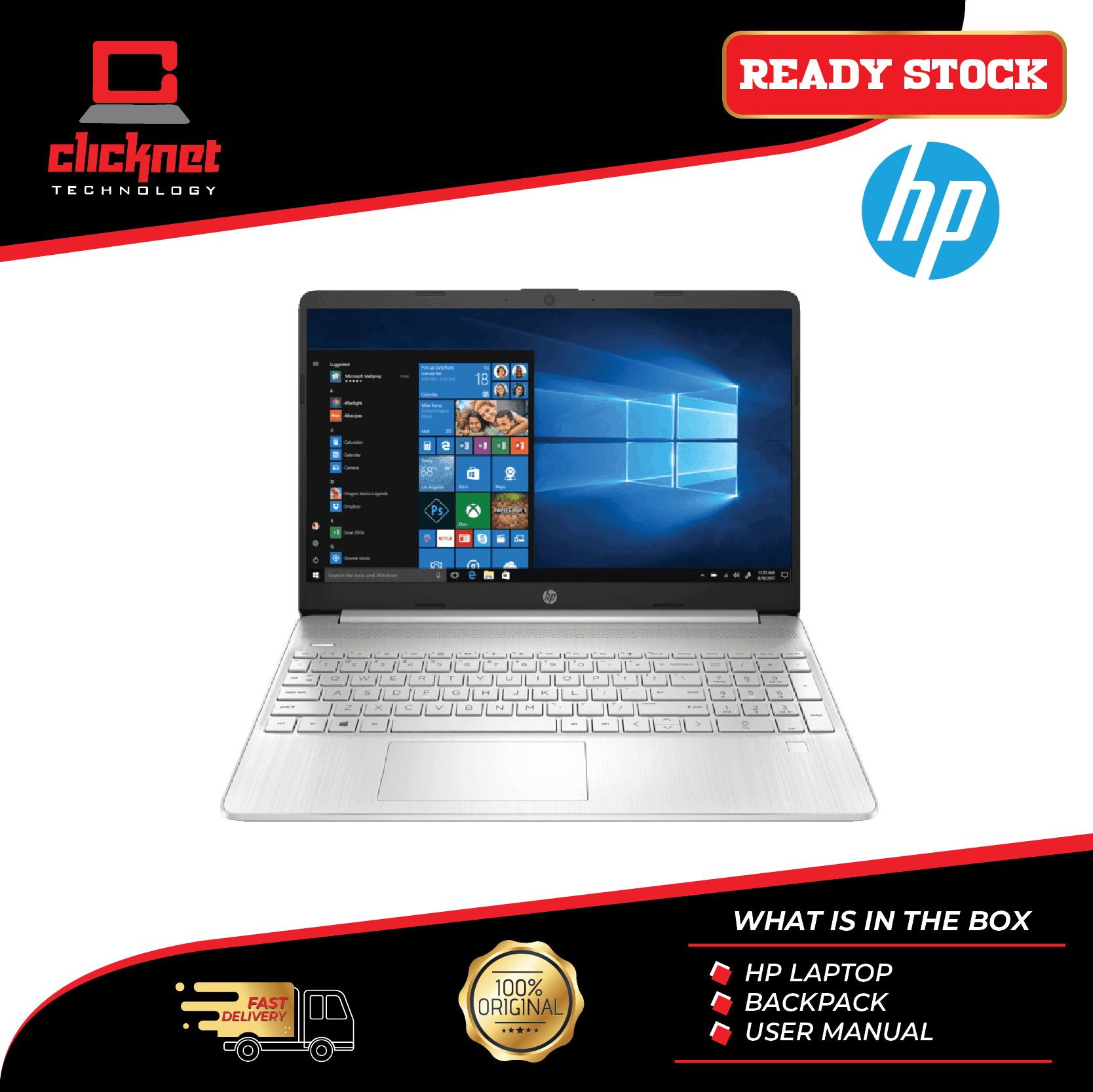 HP Laptop - 15S-EQ0067AU FHD (AMD R5 3500U, 4GB, 512GB SSD, VEGA 8, 15.6  W10H) Malaysia