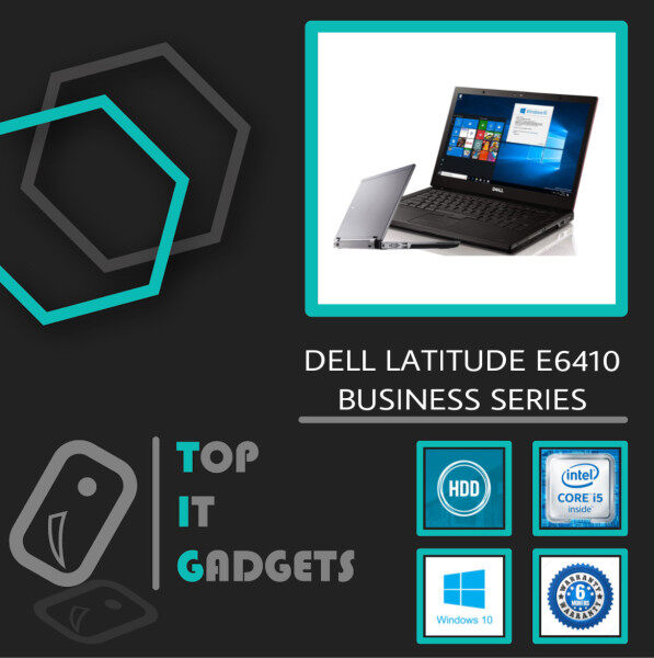 DELL LATITUDE E6410 BUSINESS SERIES - CORE I5-520M / 4GB DDR3 RAM / 320GB HDD STORAGE / BACKLIT KEYABOARD / 14 INCH / WINDOW 10 PRO [ 6 MONTHS WARRANTY ] [ LAPTOP ] Malaysia