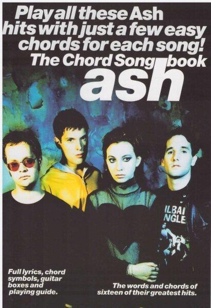 The Chord Songbook Ash (25Cm X 17CM) / Music Book / Guitar Book / Guitar Chord Book / Song Book / Voice Book Malaysia