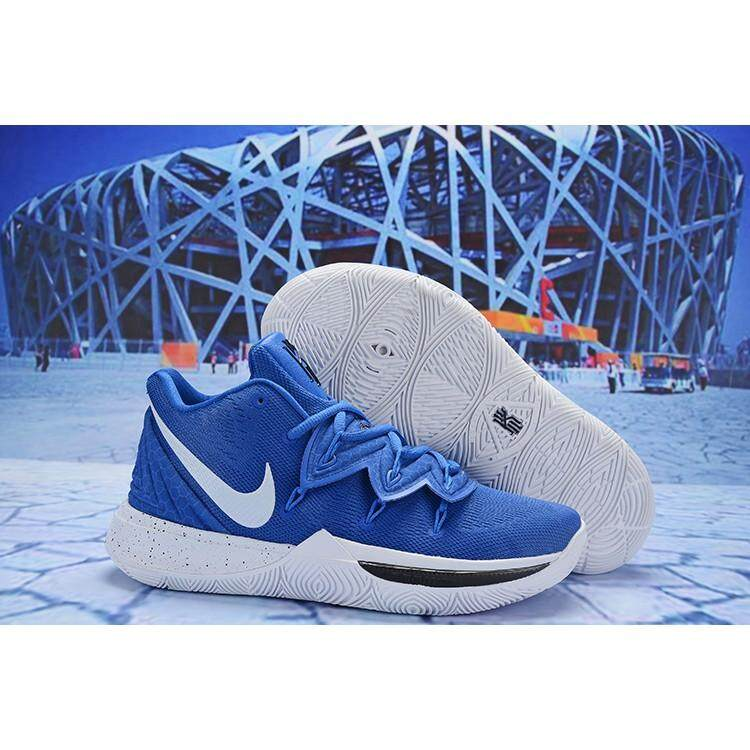 1ba0b7b9efaa Nike Kyrie 5 EP Kyle Irving 5 Mens Blue Basketball shoes