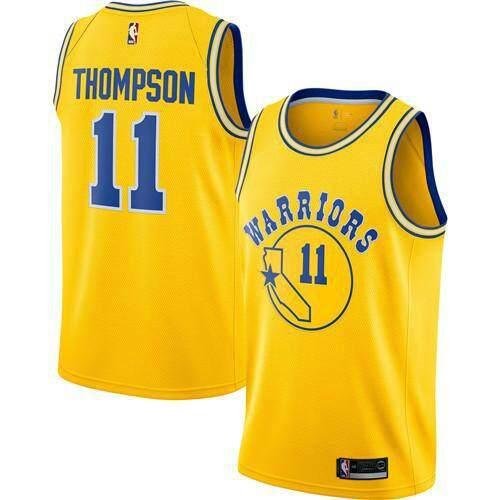 NBA Người Đàn Ông Của Golden State Chiến Binh Klay Thompson #11 Vàng Hardwood Classics Swingman Quần Áo Chơi Bóng Rổ S-2XL Chuyên Nghiệp Giá Tiết Kiệm Nhất Thị Trường