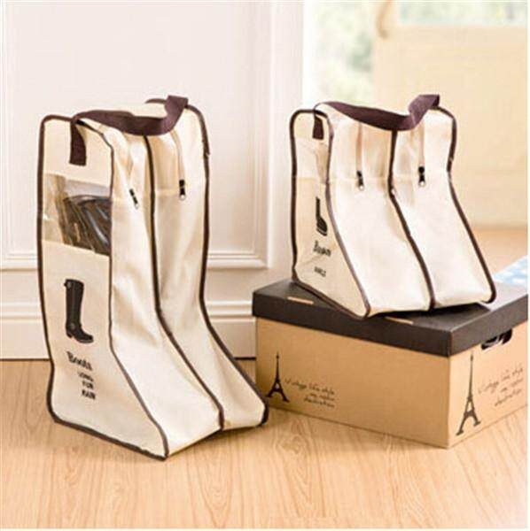 Yika Boots Traveling Shoe Bag Home Shoes Storage Bag Visual Dust Boots Boots(large)