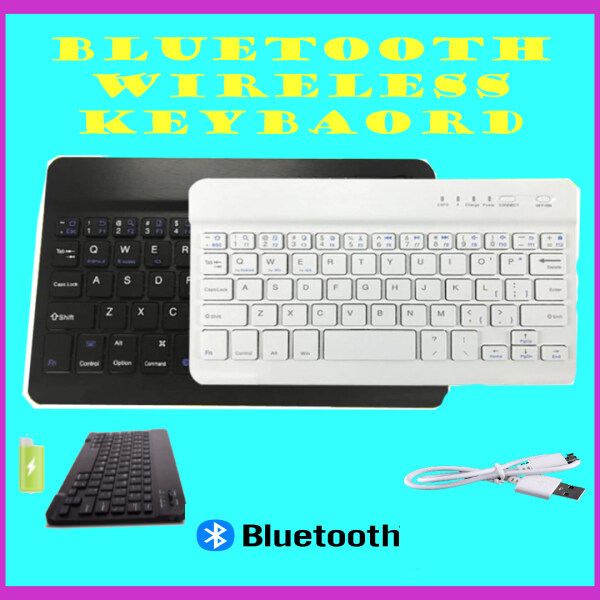 NEW ARRIVAL!!! Utra Slim Aluminium Buletooth Wireless Keybaord Can Conect with Window , IOS , Android Malaysia