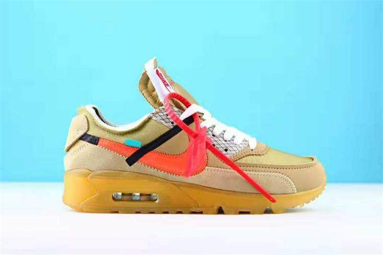 d7c41af006dc5b Nike Original Men Sneakers High Quality Nike Air MAX90 x Off-White 90 Shoes  (