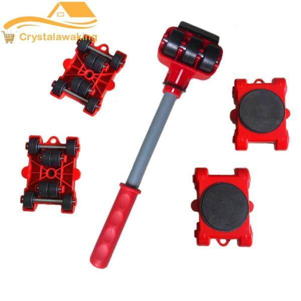 [Justbetter] 5pcs Heavy Furniture Lifter Mover Transport Portable Moving Lift Pry Sticks