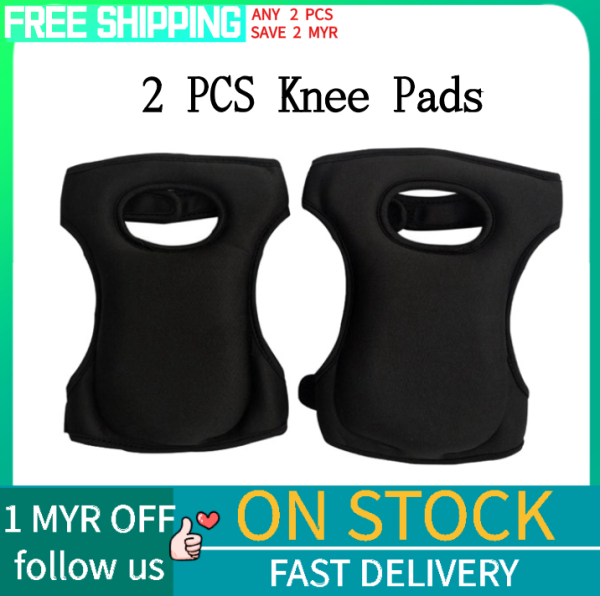 Gardening Knee Pads, Home Knee Pads for Gardening Cleaning, Adjustable Straps Knee Pads for Scrubbing Floors Work ,Black