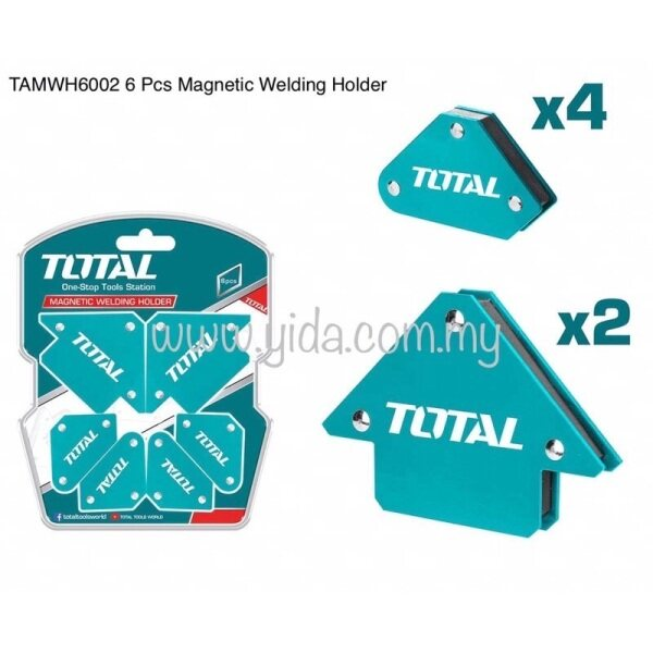 TOTAL TAMWH6002 6 Pcs Magnetic Welding Holder