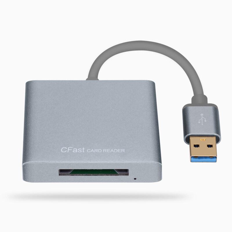Bảng giá CFast Đầu Đọc Thẻ USB3.0 Để CFast Chuyển Thẻ Tốc Độ Cao 3.0 Hợp Kim Nhôm Đầu Đọc Thẻ Tương Thích Với CFast Thẻ Phong Vũ