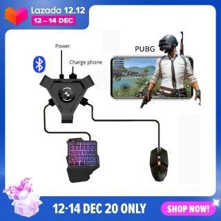 GloryStar PUBG Mobile Bộ điều khiển Gamepad Công cụ chuyển đổi bàn phím và chuột trò chơi Bộ điều hợp Bluetooth thumbnail