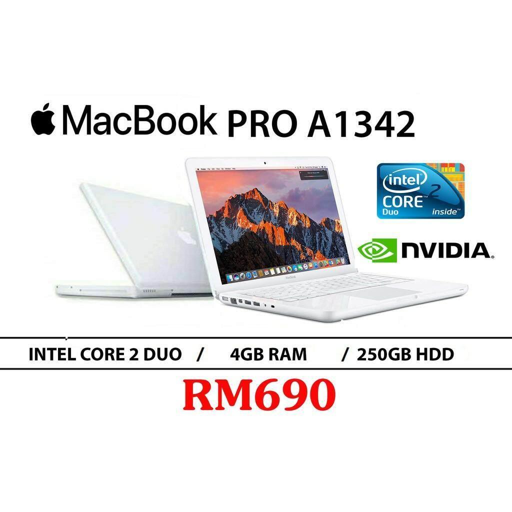 Student Offer Mac book  A1342 Intel Core 2 Duo 4GB RAM 250GB HDD 13.3 INCH NVIDIA GeForce 320M 256MB Malaysia