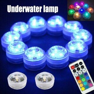 Idealhere Đèn LED RGB Trang Trí Hồ Bơi Đèn Bể Cá Chìm Dưới Nước thumbnail