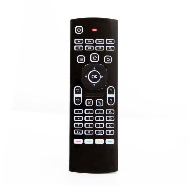 MX3-L 2.4G Wireless Air Mouse Keyboard 6-Axis TV Box Remote with Backlight Singapore