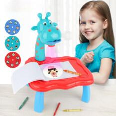 Bàn tập vẽ có máy chiếu thông minh cho trẻ em monikise – INTL