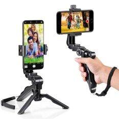 Gimbal Ổn Định Cho Vlog Điện Thoại Giá Đỡ Xoay 360 Độ, Gậy Selfie Mini Để Bàn, Giá Đỡ Điện Thoại Di Động Phổ Thông Giá Đỡ Ba Chân