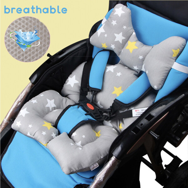 Baby Stroller Pad Seat Warm Cushion Mattress Pillow Cover Carriage Cart Thick Trolley Chair Pad Singapore