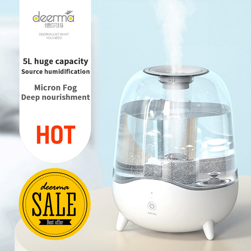 DEERMA DEM-F325 Humidifier Home Mute Air Humidification Office Bedroom Humidification Singapore