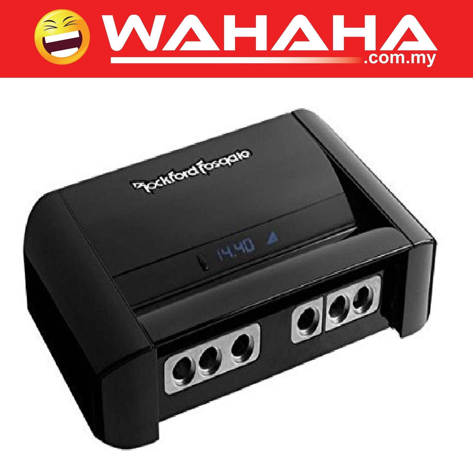 Rockford Fosgate Buy At Best Price In Malaysia R600x5 600w 5 Channel Amplifier With Wiring Kit Rfc10hb 10 Farad Hybrid Digital Capacitor