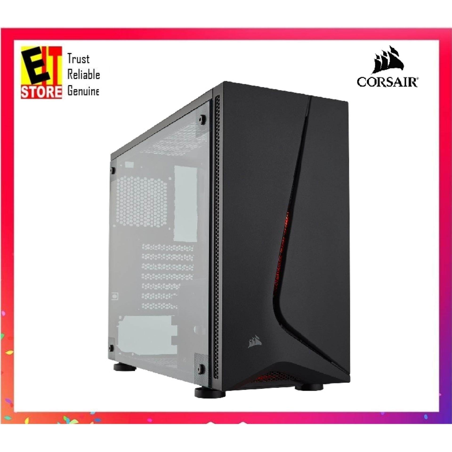 CORSAIR CARBIDE SERIES SPEC-05 MID-TOWER GAMING CASE — BLACK (CC-9011138-WW) Malaysia