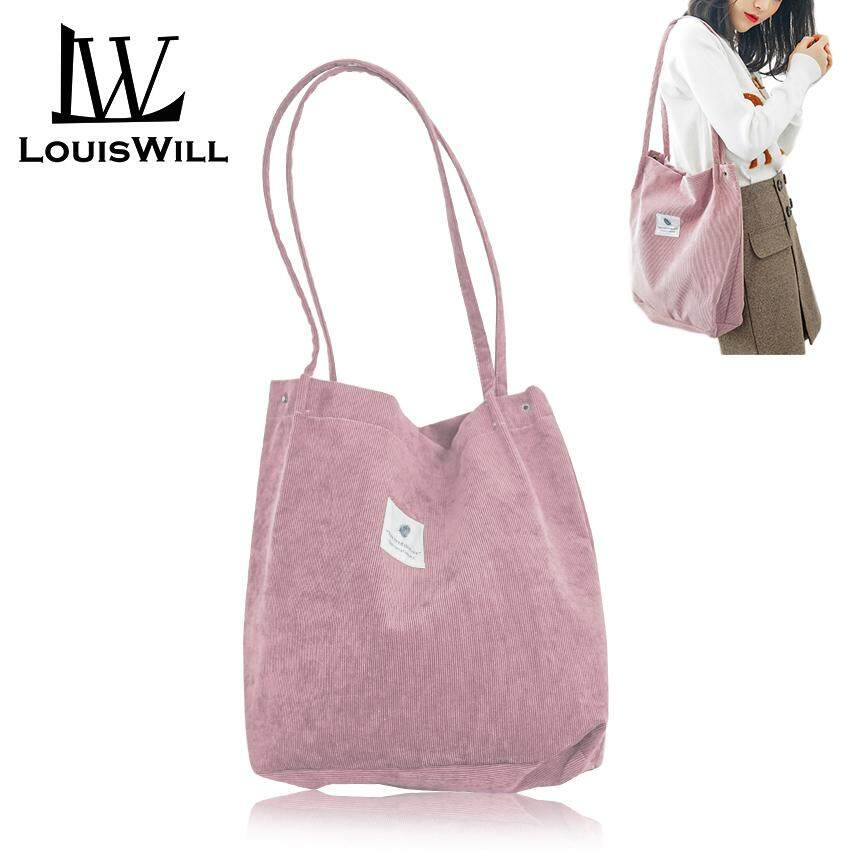 ccbb14a19e12 LouisWill Shoulder Handbag Women Tote Handbag Polyester Sling Bag Korean  Style Sling Shoulder Bag for Ladies Girls