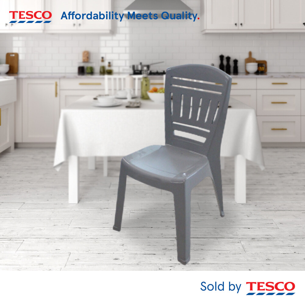 Tesco Dining Chair Grey color (T11)
