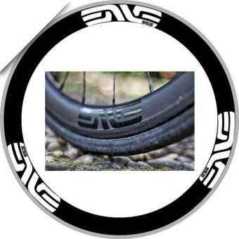 ล้อสติ๊กเกอร์ขอบล้อสำหรับจักรยานเสือหมอบ ENVE SES Series สองล้อเปลี่ยน declas จัดส่งฟรี-