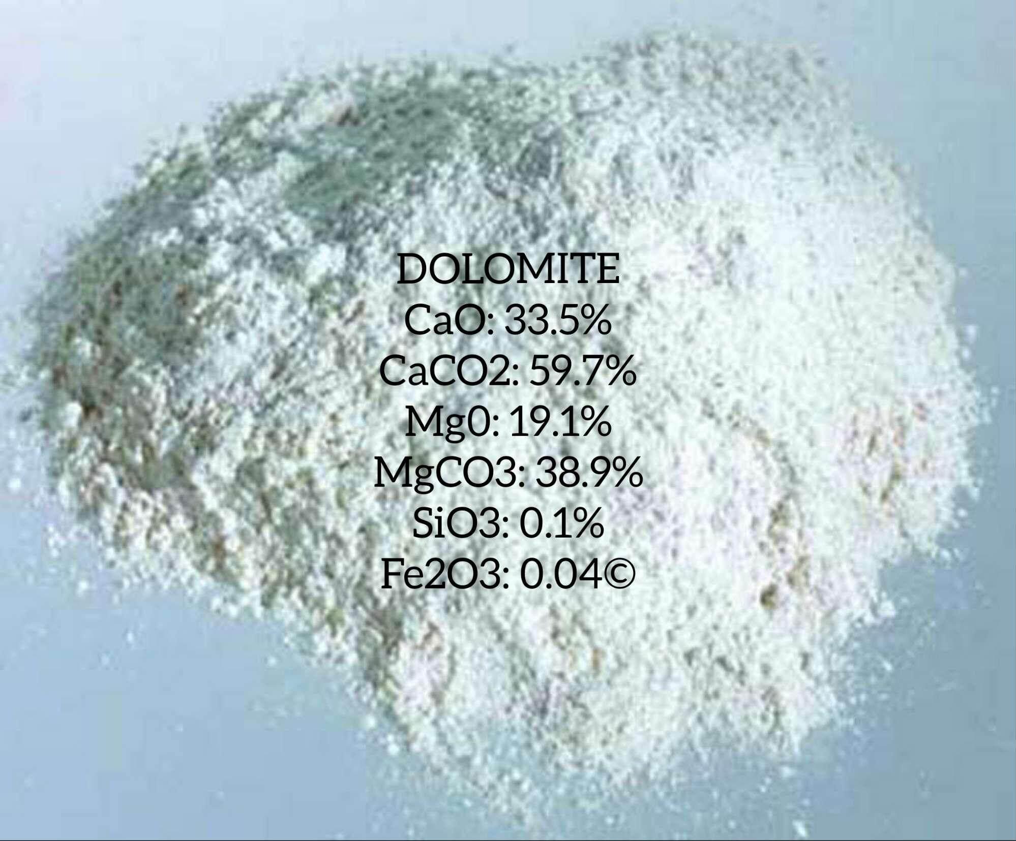 DOLOMITE (UNTUK RAWATAN TANAH) 1 KG