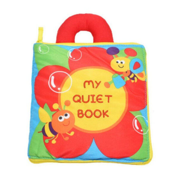 My Quiet Book/ Baby Cloth Book baby learning education Malaysia