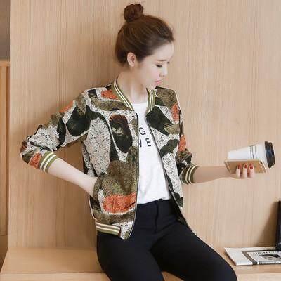 Short Small Coat Korean,style women Wear 2019 Spring Ozhouzhan Spring  Clothing Fashion Short Versatile