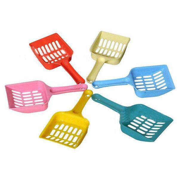 Gogostore Hot Cute Plastic Pet Dog Cat Kitten Litter Scoop Scooper Cleaning Tool Randomly By Gogostore.
