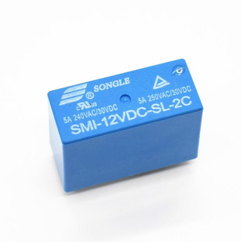 Rơle Nguồn Smi-12vdc-sl-2c 12 V 5A 8 Pin VAC/30VDC Rơle Songle