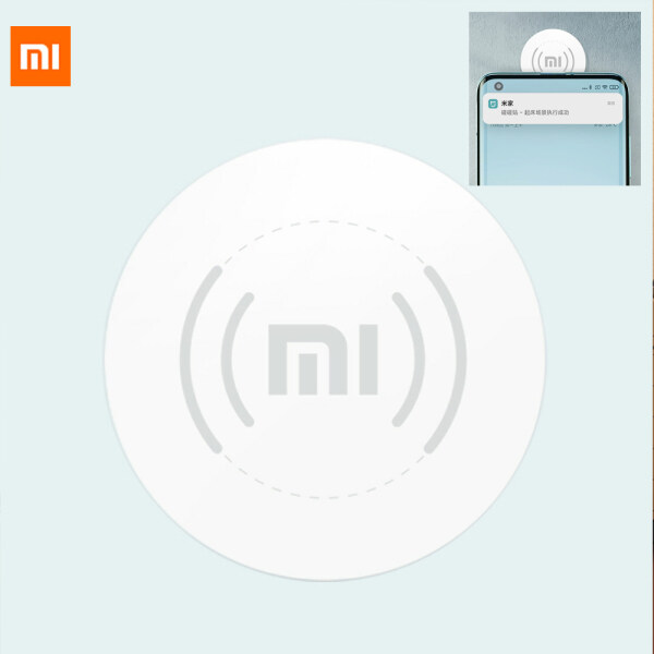 Xiaomi Mijia Bumper Sticker 2  Touch Internet Audio Video Playback APP Control WiFi Connection Wireless Switch NPC Patch Smart Home Have Multiple Mijia Smart Scenes A Housekeeper For Home Office