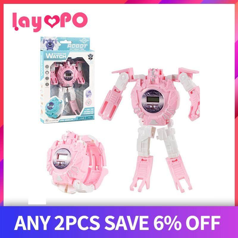 Nơi bán LayOPO Đồng hồ điện tử Trẻ Em, biến dạng đồng hồ đồ chơi
