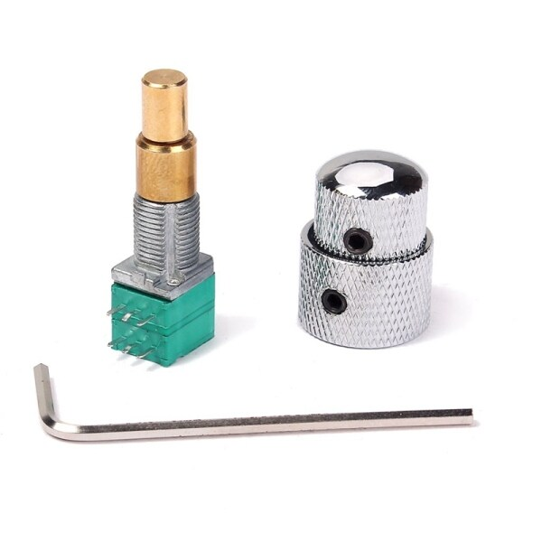 Potentiometer for Electric Guitar Bass with Rotary Switch Wrench