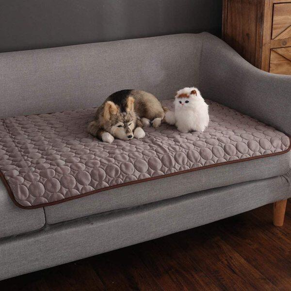 Tấm Làm Mát Thú Cưng Thêm Chó Lớn Thảm Ngủ Mùa Hè Mèo Cưng Chăn Làm Mát Gối Ngủ Phụ Kiện Cho Thú Cưng Giữ Thú Cưng Comfort Mát Cho Mèo Và Chó Cho Cũi Sofa Giường Tầng Du Lịch Ghế Xe