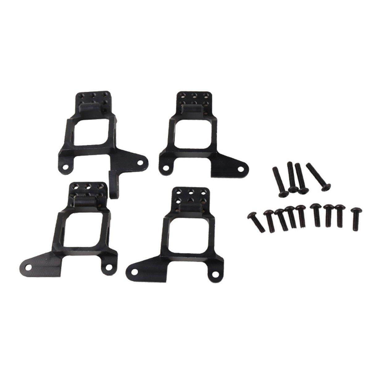 CELE 4PCS Front And Rear Shock Absorber Suspension Bracket For 1/10 Traxxas TRX4 RC