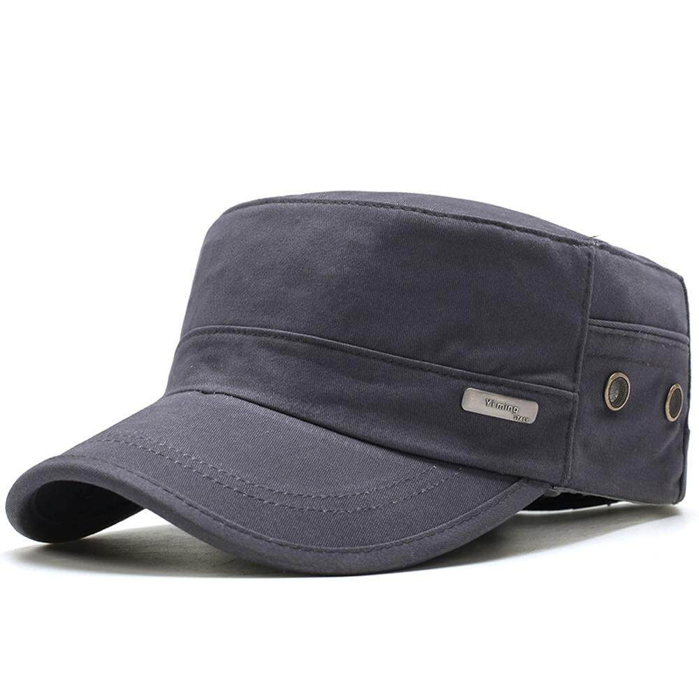 47b577ab Men Outdoor Military Hat Army Caps Cotton Classic Adjustable Fashion  Baseball
