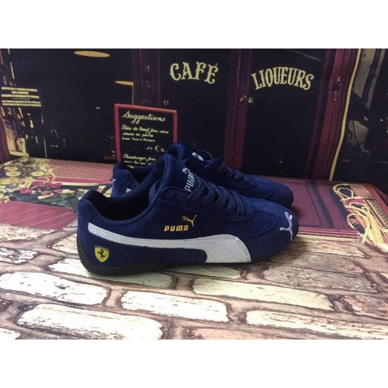 Original_new_arrive_origiinal_puma_X_Ferrari_blue_men__women_sport_outdoor_shoe_size36-44