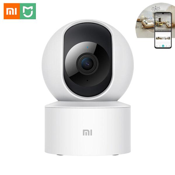 Xiaomi Mijia Camera thông minh PTZ phiên bản SE hình ảnh sắc nét độ phân giải cao 1080P xoay góc ngang 2 chiều 360 độ điều khiển bằng giọng nói cảm biến hồng ngoại có thể quay được vào ban đêm phát hiện người hỗ trợ thẻ nhớ Micro SD - I