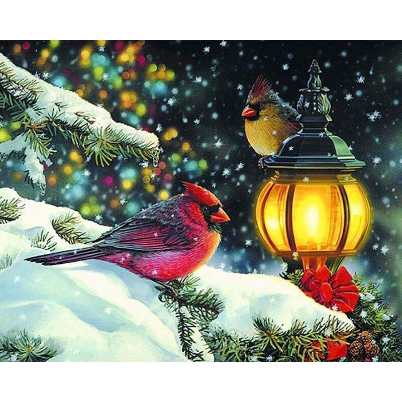 5D Diy Diamond Painting Animal Birds Full Round Diamond Embroidery Cross Stitch Diamond Wall Painting