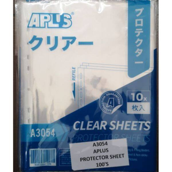 Protector sheet 100pcs ( Aplus A3054 ) A4 saiz