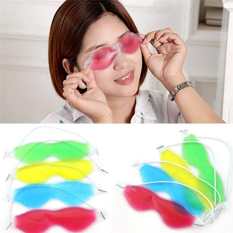 Gel Eye Mask Cold Pack Warm Hot Heat Ice Cool Soothing Tired Eyes&Headache Pad