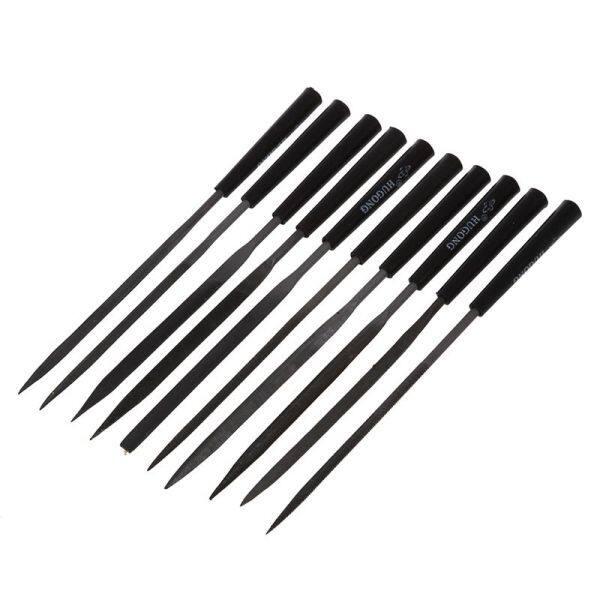 10Pcs Metalsmith Jewelers Tools Assorted Needle Files