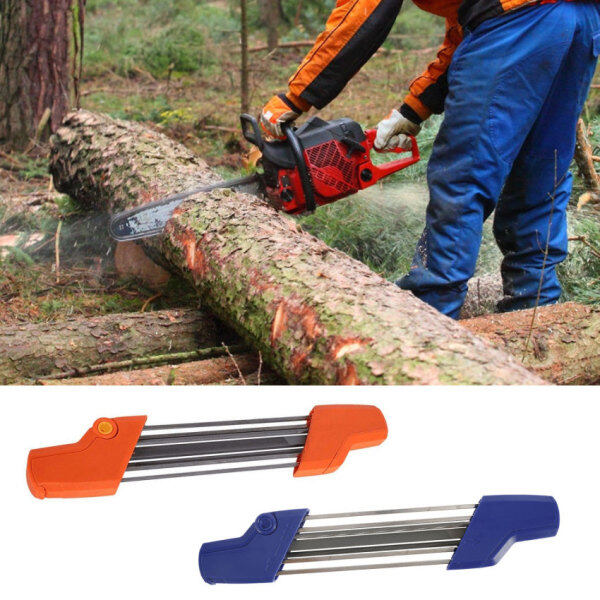 Easy File Chainsaw Chain Sharpener 4.0/4.8Saw Teeth Set Fast Sharpening Files Chain Sharpener Accessories Tool