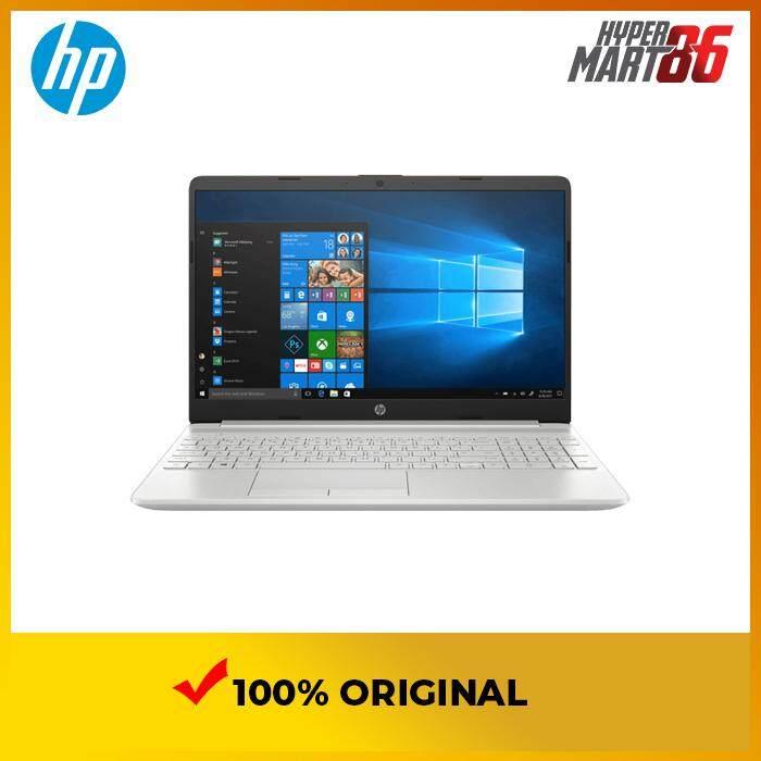 HP 15S-DU0021TX Notebook Silver (15.6inch/Intel I5/4GB/1TB/MX130 2GB) Malaysia