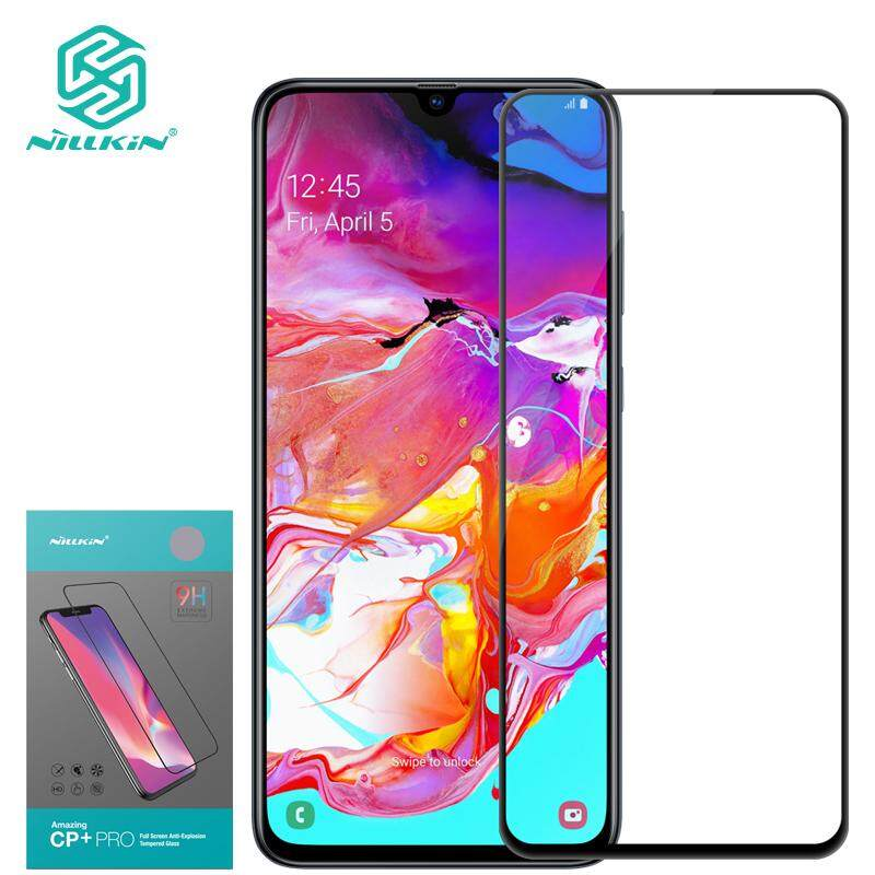 Nillkin for Samsung Galaxy A70 Tempered Glass, Amazing CP + Pro Anti-glare Tempered