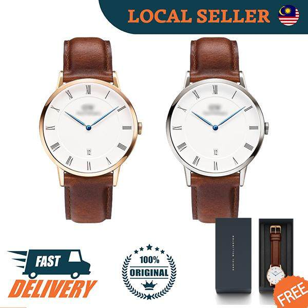 [Authentic] Dapper St Mawes Leather Strap 38mm 34mm Unisex Men Women Watch Jam Tangan Lelaki Wanita Malaysia