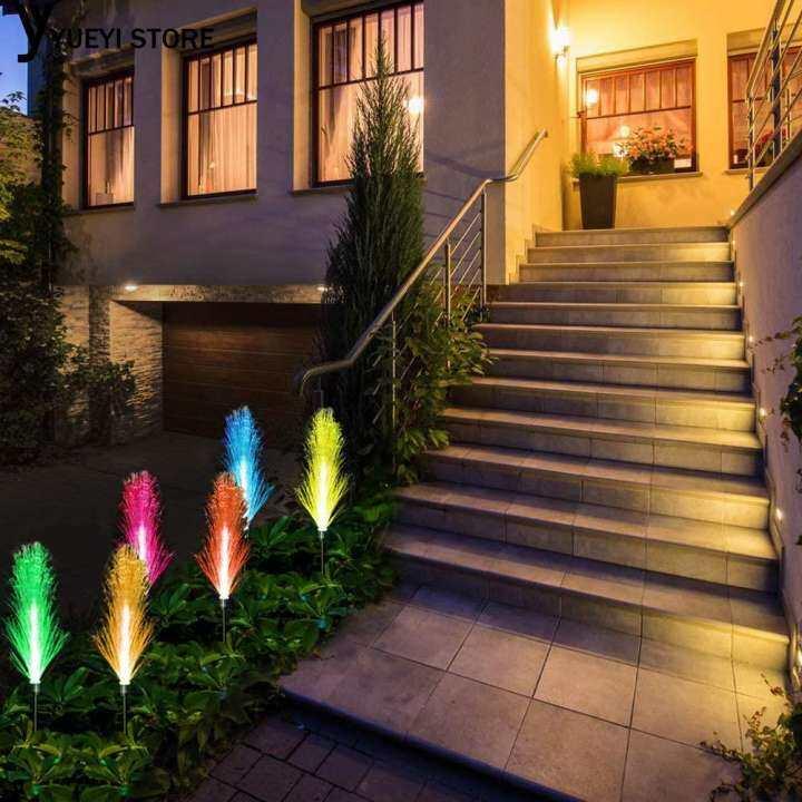 Yysl Bekalan Perjalanan Lampu Suluh Pintar Tahan Lama Yang Mesra Alam Solar Powered Ip66 Yard Kalis Air Lampu Jalan Cahaya Belakang Rumah Laluan Hiasan Rgb Patio Lazada